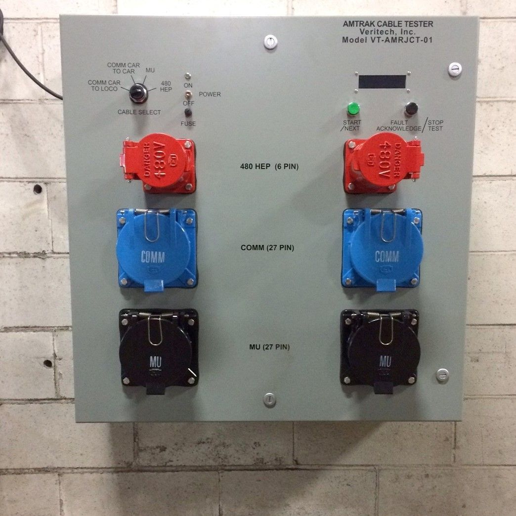 Rail Jumper Cable Tester